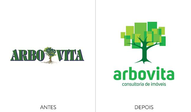 Rebranding: o antes e depois da marca Arbovita.