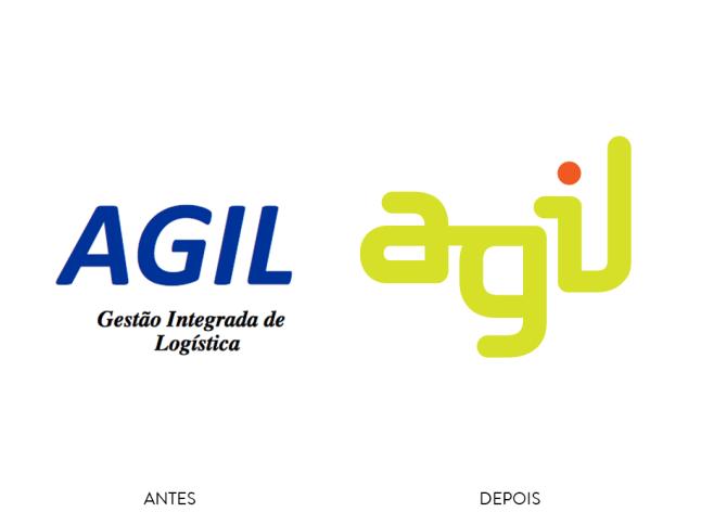 Rebranding: o antes e depois da marca Agil.