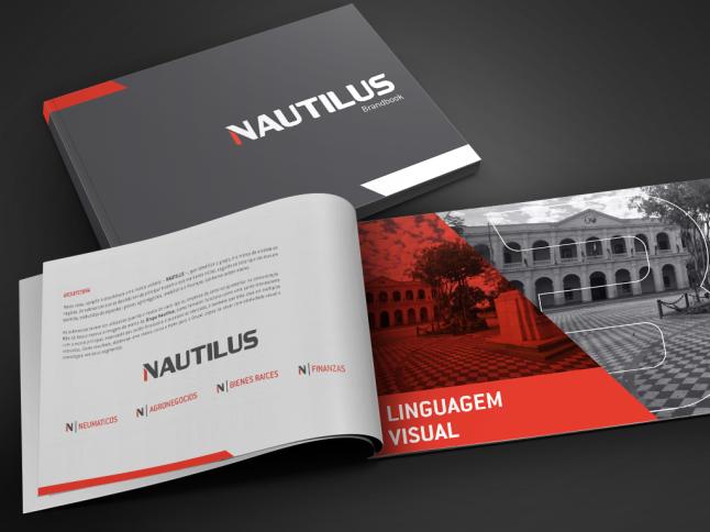 brandbook Grupo Nautilus by chablau!