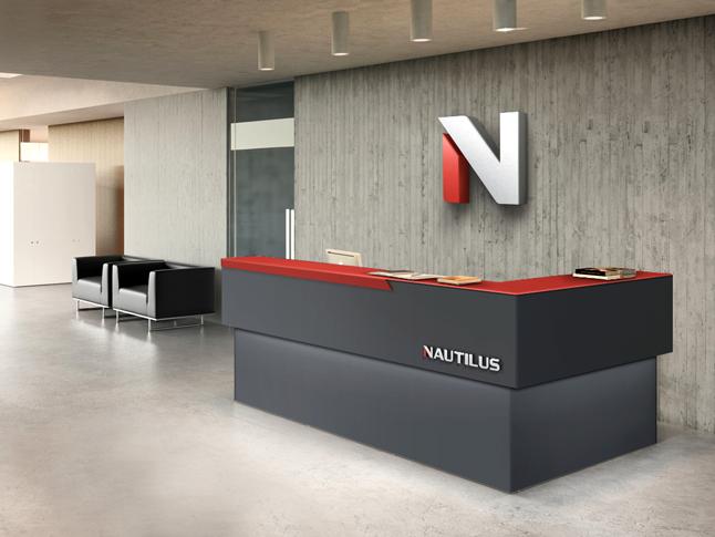 design da recepção de Nautilus by chablau!