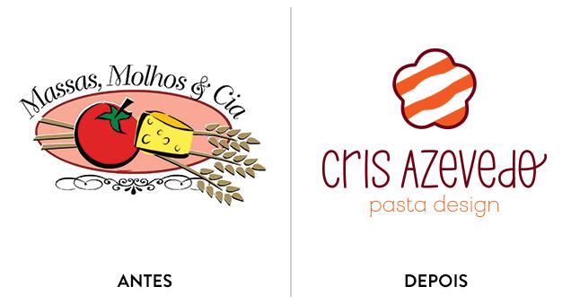 Rebranding de Cris Azevedo.