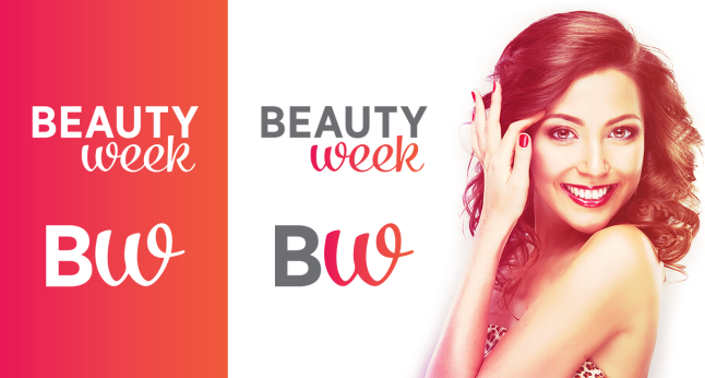 nova identidade visual Beauty Week